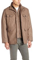 London Fog Men's Alger Field Coat with Bib