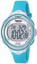 Timex Women's T5K602 Ironman Classic 30 Mid-Size Sea Blue Resin Strap Watch