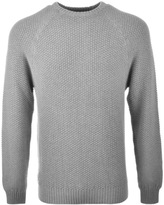 Luke 1977 3D Vision Knit Jumper Grey