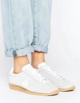 Le Coq Sportif Gray Suede Quartz Sneakers