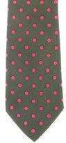 Gucci Polka Dot Print Silk Tie