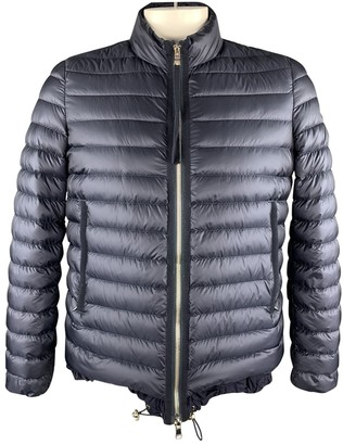 Moncler Navy Polyester Jackets