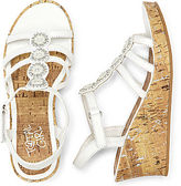 JCPenney Total Girl Marcy Girls Wedge Sandals - Toddler