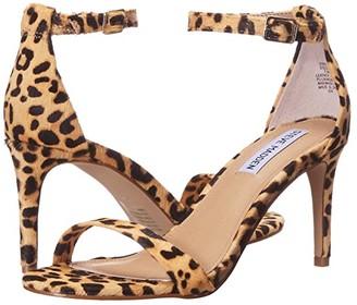 Steve Madden Stecia-L Heeled Sandal (Leopard) Women's Shoes