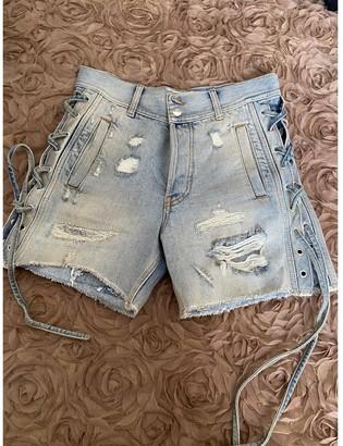 Faith Connexion Blue Denim - Jeans Shorts for Women