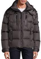 SAM. Quilted Goose Down Jacket