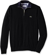 Lacoste Men's Seg 1 1/4 Zip Jersey Sweater