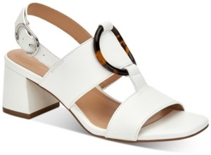 Alfani Women's Step N' Flex Gwenna Ring-Hardware Dress Sandals, Created for Macy's Women's Shoes