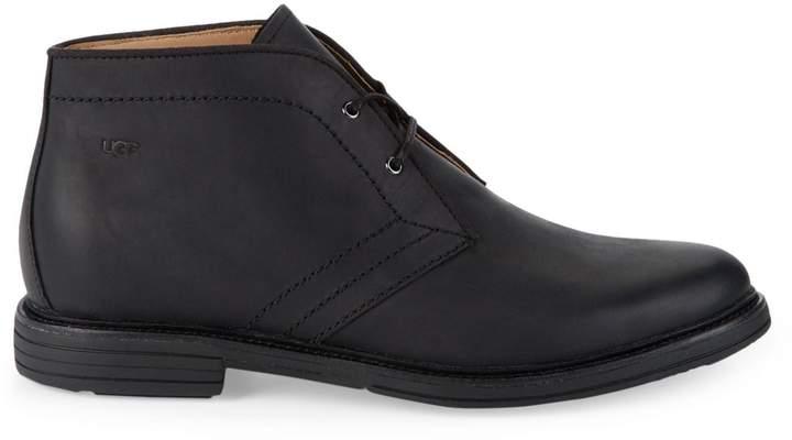 9ef581ebfa6 Dagmann Leather Chukka Boots