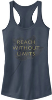 Chin Up Apparel Women's Tank Tops INDIGO - Indigo 'Reach The Limits' Racerback Tank - Women
