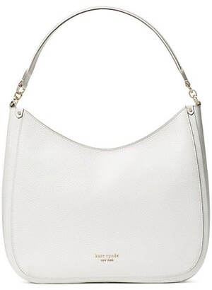Kate Spade Large Roulette Leather Hobo Bag