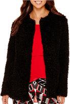 Bisou Bisou Oversized Faux-Fur Jacket