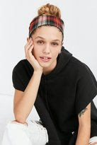Urban Outfitters Plaid Wide Headwrap
