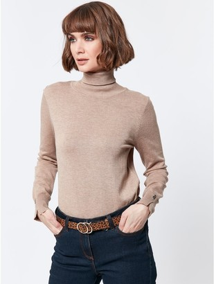 M&Co Roll neck jumper