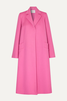 Carolina Herrera Oversized Wool And Cashmere-blend Felt Coat - Pink