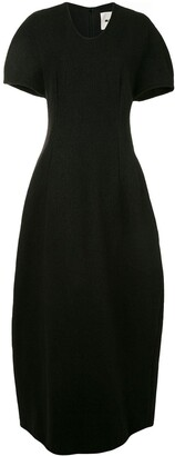 Jil Sander Balloon Short-Sleeve Dress