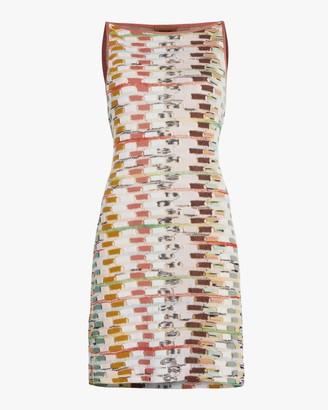 Missoni Multicolor Sleeveless Mini Dress