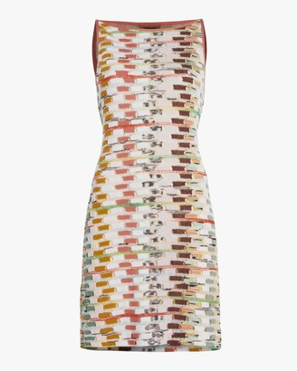 Missoni Multicolor Sleeveless Mini Dress