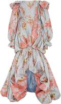 Zac Posen French Jacquard Gown