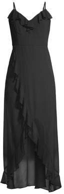 Kensie Sleeveless Chiffon Midi Dress