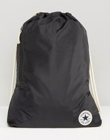 Converse Drawstring Backpack In Black