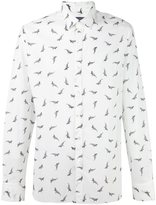 Lanvin shark print shirt - men - Cotton - 43