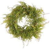 "National Tree Company 22"" Garden Accents Artificial Boxwood Berry Wreath"