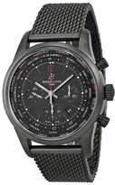 Breitling Men's BTMB0510U6-BC80SS Transocean Unitime Pilot Analog Display Swiss Automatic Watch