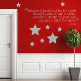 Ta-Dah Wall Art Christmas Grinch Quote Wall Sticker