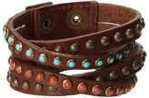 Leather Rock B339 Bracelet