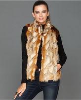 INC International Concepts Vest, Faux-Fur