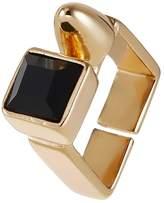 sweet deluxe GILLIAN Ring goldcoloured/black