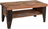 Houseology OH Industrial Recycled Boatwood TV Dresser / Coffee Table with Shelf