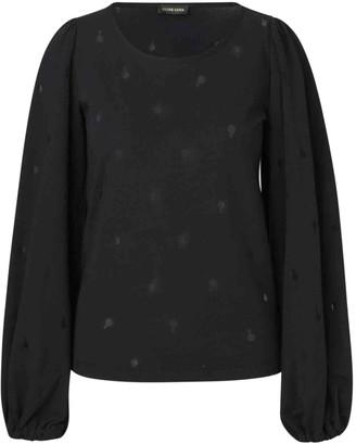 Stine Goya Black Cotton Tops