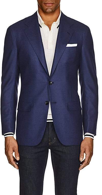 Kiton Men's KB Neat Cashmere Two-Button Sportcoat