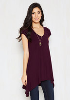 Asmara International Limited A Crush on Casual Tunic in Mulberry