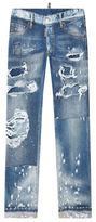 DSQUARED2 Glamhead Distressed Jeans
