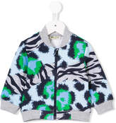 Kenzo Jungle print bomber jacket
