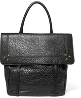 Jerome Dreyfuss Jeremie Small Textured-leather Tote - Black
