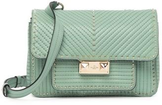 Valentino Convertible Leather Studded Crossbody Belt Bag