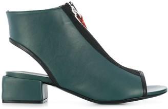Marni Zipped Open-Toe Sandals