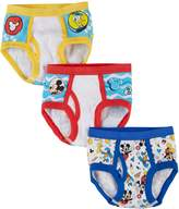 "Disney Mickey Mouse Little Boys' Toddler ""Club Friends"" 3-Pack Briefs"