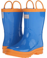 Hatley Royal Blue & Orange Rainboots (Toddler/Little Kid)
