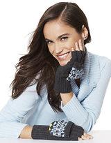 New York & Co. Snowflake-Print Convertible Glove