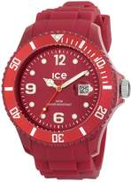 Ice Watch Ice-Watch Men's Ice-Winter SW.DR.B.S.11 Silicone Quartz Watch with Dial