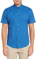 Zachary Prell Souza Trim Fit Print Sport Shirt