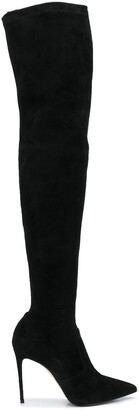 Le Silla Carry Over thigh-high boots