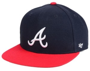'47 Boys' Atlanta Braves Basic Snapback Cap