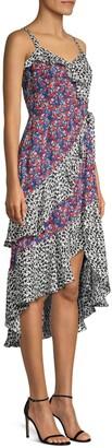 Parker Multicolor Sleeveless Midi Dress