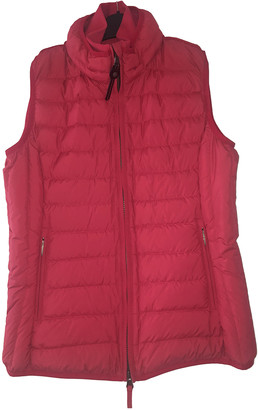 Parajumpers Pink Polyester Coats